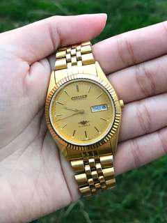 Citizen Gold Plated Automatic Watch