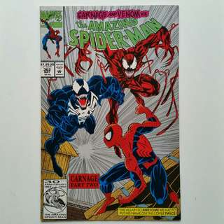 Amazing Spider-Man No.362 (2nd print)