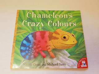 Children's Story Book - Chameleon's Crazy Colours