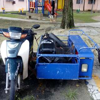 Motor roda 3 rm 3500