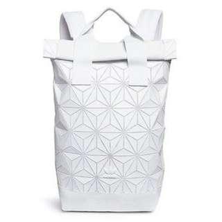 Adidas Issey Miyake White Backpack Bagpack bag READY STOCK instock