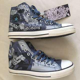 全新 CONVERSE All Star X DC Comics Batman 版本 Sneakers 便服 鞋(不議價 fixed price)