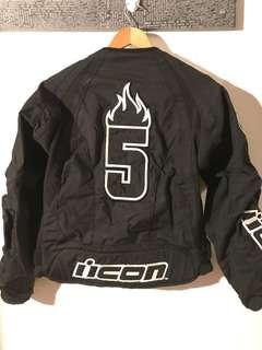 Motorcycle Icon motorcycle jacket sz L race jacket