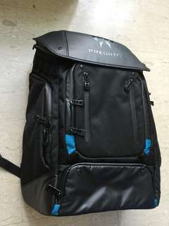 Predator utility backpack. Large capacity with many compartments for accessories.