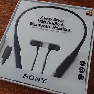 全新Sony SBH90C 無線有線兩用藍牙耳機