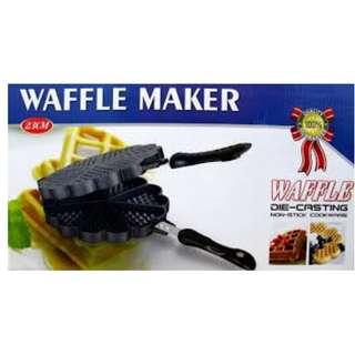 Cetakan kue waffle maker tebal awet dan bagus