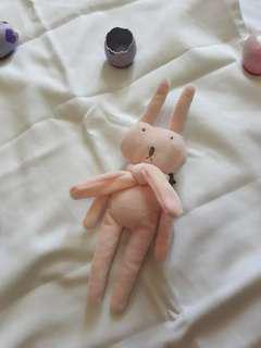 boneka pin kelinci dan rubah super cute