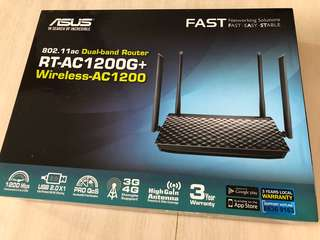 ASUS dual band router wireless BNIB