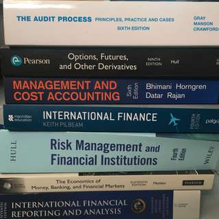 Finance & Accounting Textbooks
