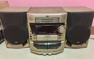 JVC Component (Silver po ang color)