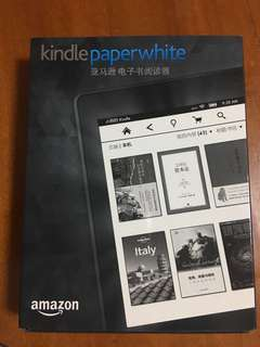 Kindle paper white 電子閲讀書99%new