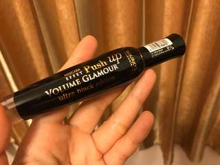 Bourjois black mascara