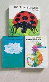 Eric Carle - The Grouchy Ladybug, Little Cloud & Mister Seahorse