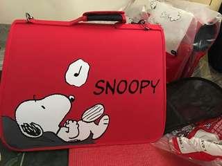 🚚 Snoopy&Friends可摺疊兩用寵物外出手提袋