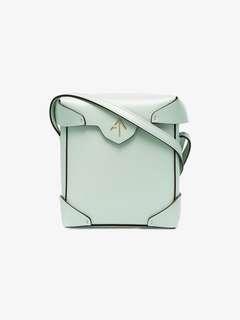 Manu Atelier Mini Pristine Crossbody - Mint