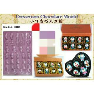 *FREE DELIVERY to WM only / Ready stock* Doraemon chocolate mould each as shown in design/color. Free delivery is applied for this item.