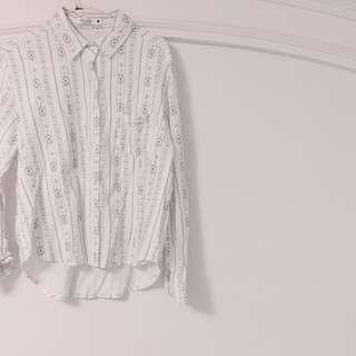 🚚 Chula 短版 襯衫 onesize 只穿一次 caco購入