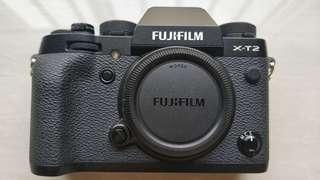 Fujifilm Fuji XT2 bekas kondisi bagus