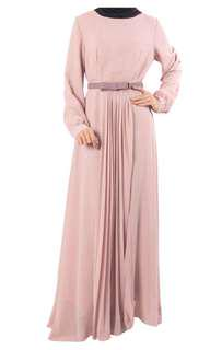 Dusty Pink Dress by Zawara