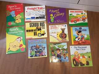 Assorted Kids Picture Books