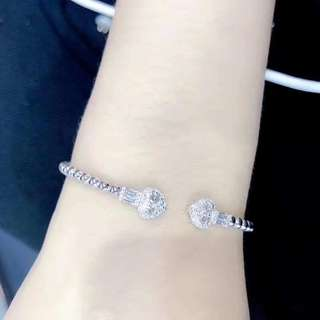 18k鑽石手鐲
