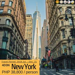 4D3N New York Tour Package