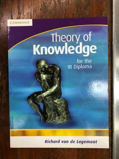 Theory of Knowledge for the IB Diploma by R van de Lagemaat