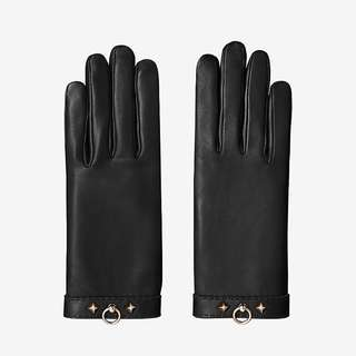 CRAZY SALE😱Hermes Louise lambskin gloves 小羊皮 玫瑰金 茄士咩 手套