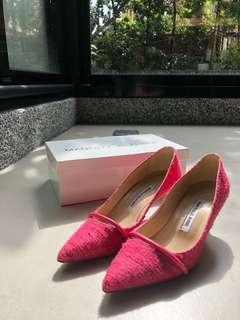 🚚 monablonc 粉紅色低跟鞋