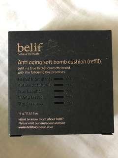 Belif Anti Aging Soft Bomb Cushion Refil Natural Beige