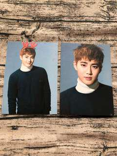 🚚 EXO Suho Sing For You Postcards