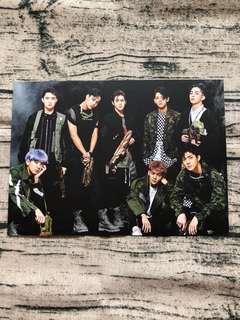🚚 EXO Group Power Postcard