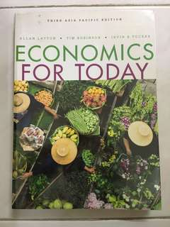 ECONOMICS FOR TODAY - Third Asia Pacific Edition