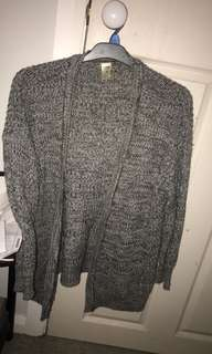 Knit cardigan size 8
