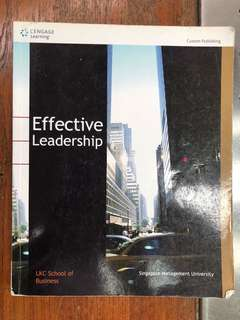 Effective Leadership  by LKC School of Business SMU