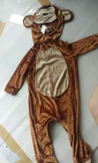 Baby monkey costume for 1 to 1.5 yr old