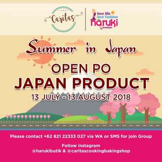 Summer in Japan Sale