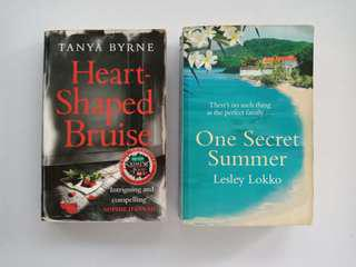 Heart Shaped Bruised & One Secret Summer - BOTH FOR 60