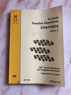 A-Level Chemistry CS Toh Guidebook