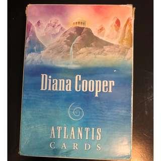 Diana cooper Atlantis cards C312