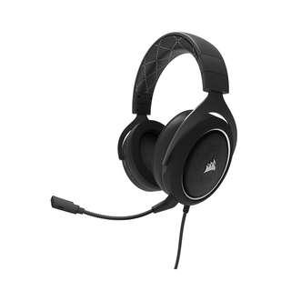 CORSAIR HS60 Stereo 7.1 Surround Gaming Headset (White)