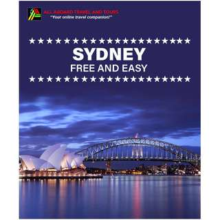 Sydney Free and Easy Land Arrangement for 2 Persons