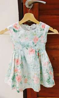 Free Shipping! Mayoral (Spain) Vintage tea dress