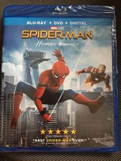 SPIDER-MAN HOMECOMING BLURAY BLU-RAY