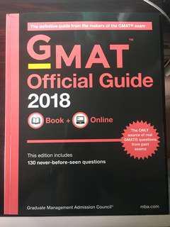[全新] GMAT 2018 Official Guide 官方指引;MBA考試必備天書