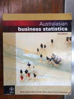 Australasian Business Statistics by Black,Asafu-Adjaye,Burke,Khan,King, Peters, shewrsook