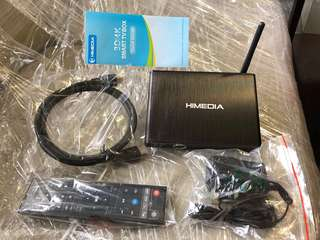TV channels box (HIMEDIA)original S$ 120