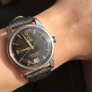*Reduced* Omega Seamaster Calendar automatic watch