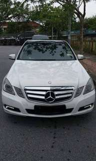 SAMBUNG BAYAR/CONTINUE LOAN  MERCEDES BENZ E200 CGI YEAR 2010/2016 MONTHLY RM 1800 BALANCE 6 YEARS + ROADTAX DEC 2018 TIPTOP CONDITION  DP KLIK wasap.my/60133524312/e200