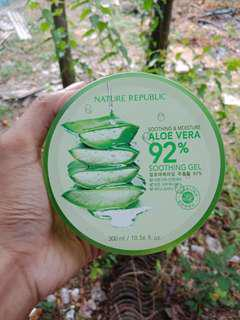 Nature republic aloevera shooting gel